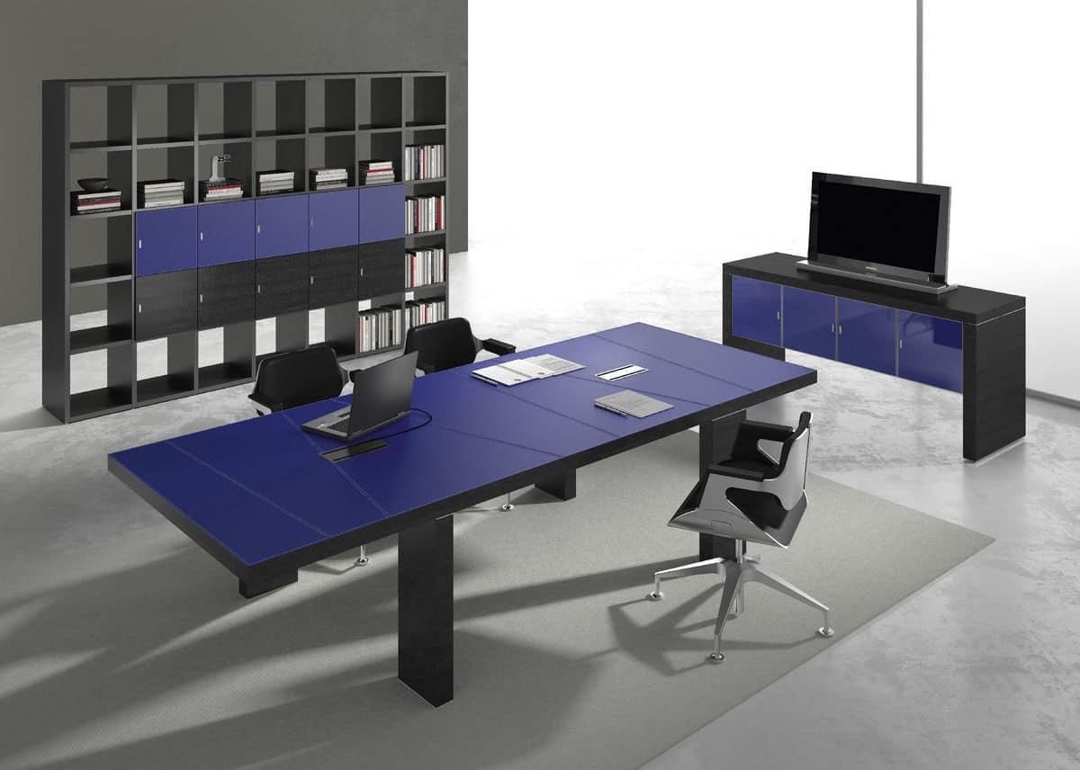 Arredamento per sala riunioni, in stile moderno  IDFdesign