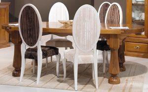 '500 173, Tavolo con piano realizzato da pezzo unico secolare di noce