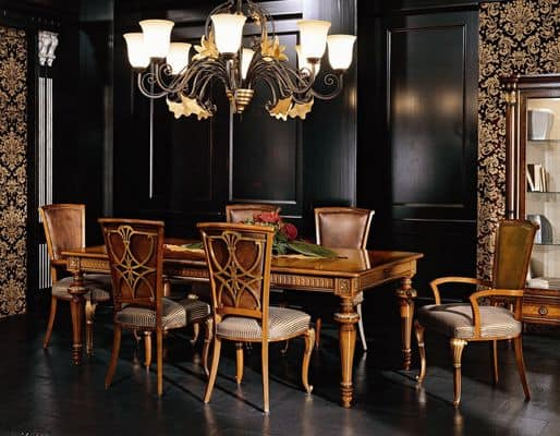 Tavoli classici di lusso 5506 - Tavoli da pranzo classici ...