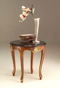 6524 tavolino, Tavolino stile classico con piano in marmo