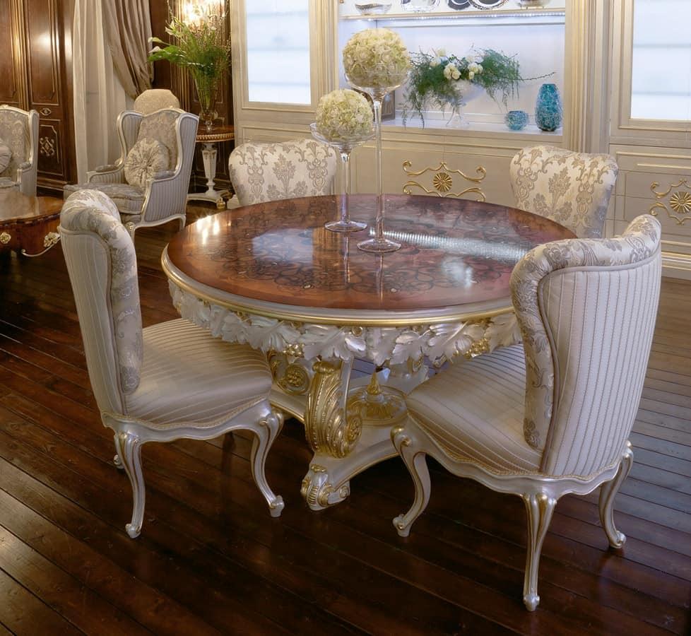 Tavoli Tavoli Classici ed in stile in stile e classici di lusso tondi  IDFdesign