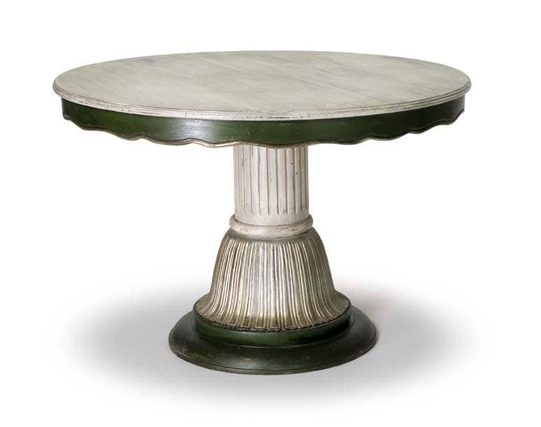 Art.140 tavolo, Tavolo in stile classico con colonna centrale