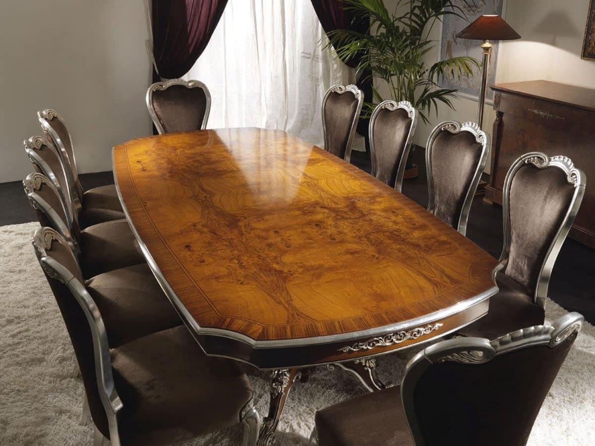 Tavoli in legno galleria d 39 arte antica idfdesign - Tavoli classici in legno ...