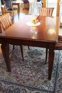 Art. 847, Tavolo allungabile per cucina classica di lusso