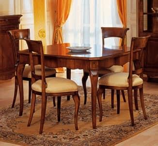 Tavoli classici legno lavorato art 903 tavolo 39 800 francese for Tavoli classici