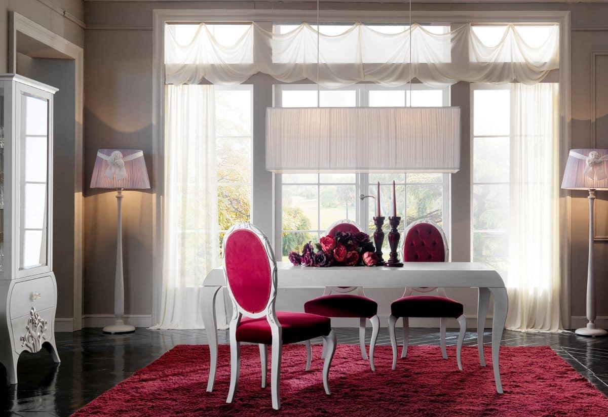 Capri 18 Tavolo Sala Da Pranzo In Stile Classico Contemporaneo #B5164C 1200 824 Lampadario Classico Cucina