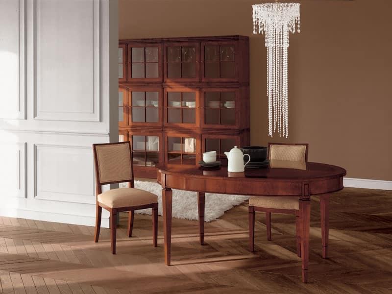 Tavoli classici legno lavorato soggiorno idfdesign for Tavoli classici