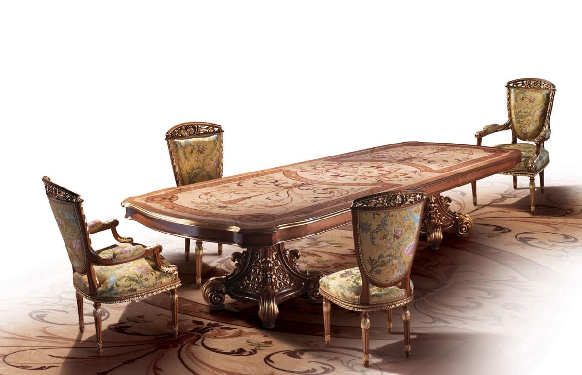 Home Arredo Tavoli Tavoli F800 #381E16 1200 774 Disegni Di Tavoli Da Pranzo