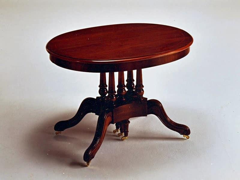 Tavolo estendibile, ovale, classico, Zona giorno  IDFdesign