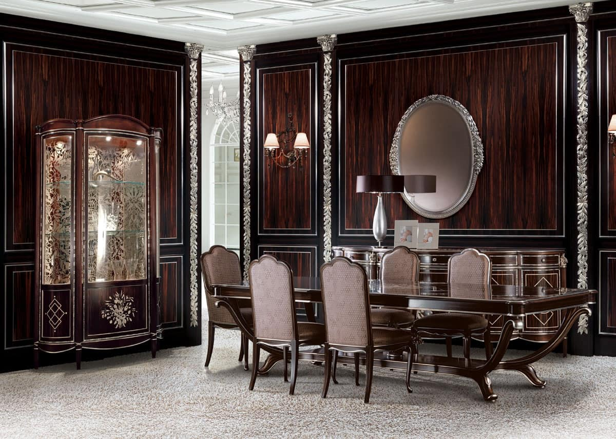 Sala da pranzo classica di lusso, Zona giorno | IDFdesign