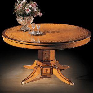 Tavolo 1176, Tavolo classico in radica di mirto