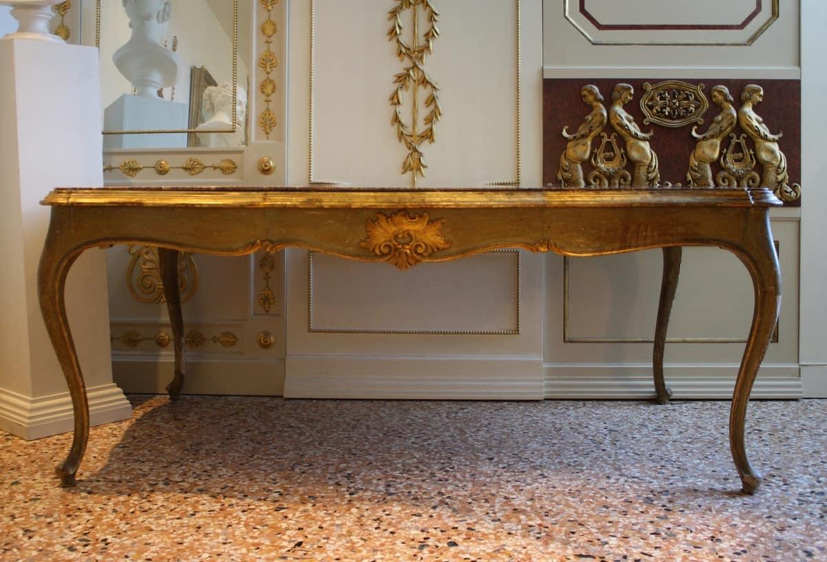 TAVOLO ART. 700 VENEZIANO, Tavolo in stile Veneziano