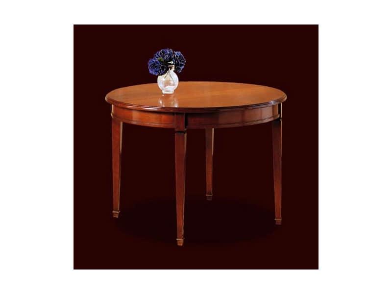 Tavolo rotondo arredamento classico tavoli da pranzo - Tavoli da arredo ...