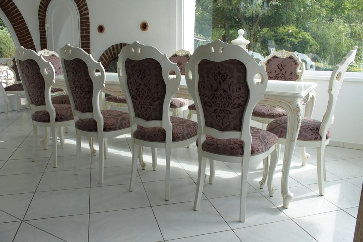 Tavolo barocco per soggiorno | IDFdesign