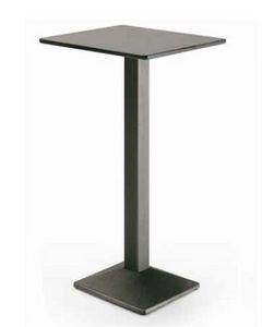 art. 4164-Quadra, Tavolo alto in metallo