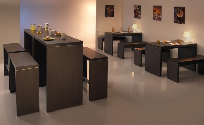 ... , tavolo moderno, tavolo contract, tavolo design Alberghi - IDFdesign
