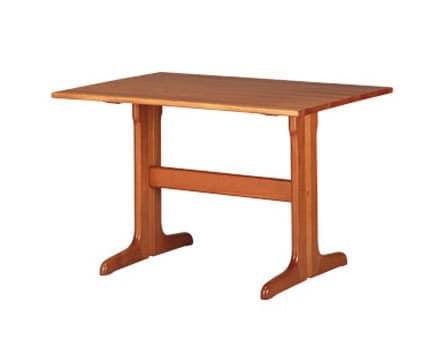 603, Tavolo rustico rettangolare, in faggio, per cucina