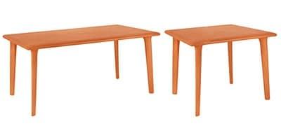 Demis, Tavolino per ristorante e pub, in polipropilene riciclabile