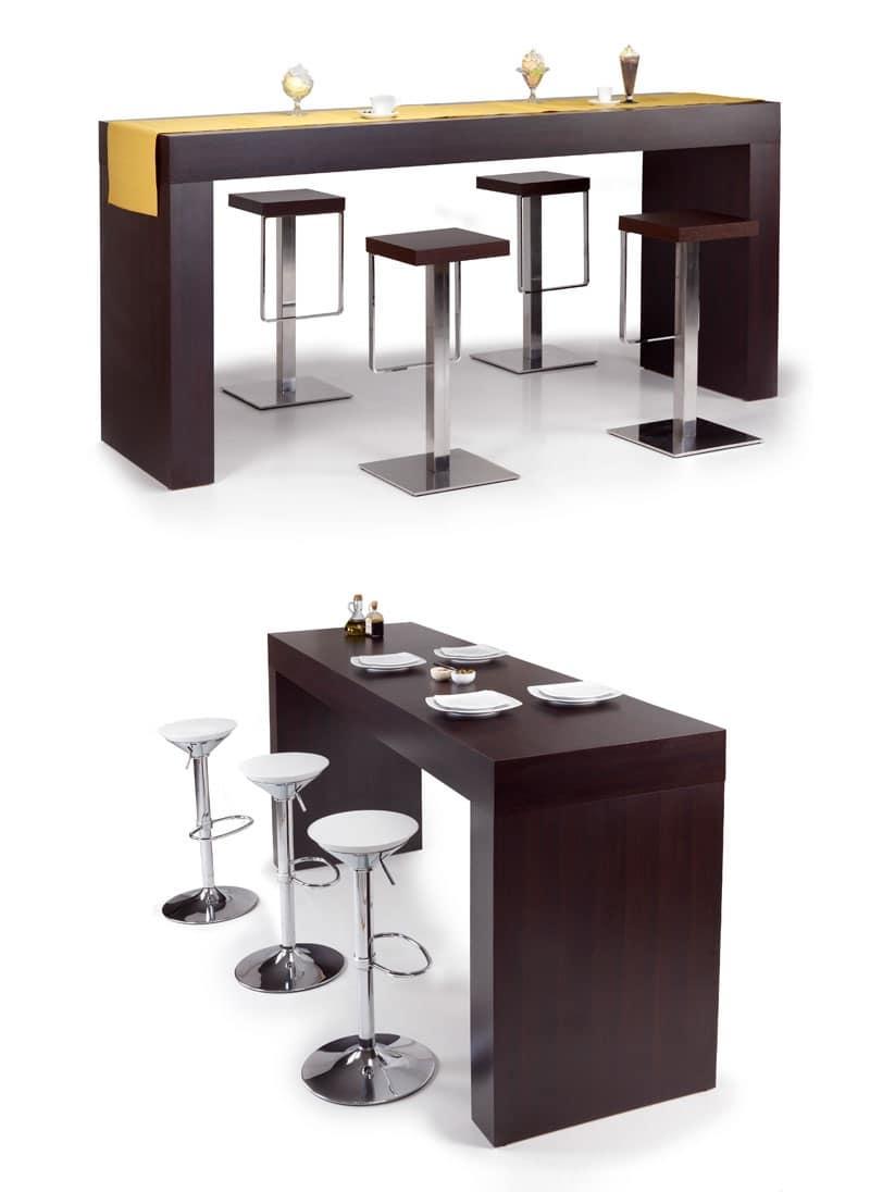 Credenze legno stile tirolese pegaso - Tavoli alti bar ...