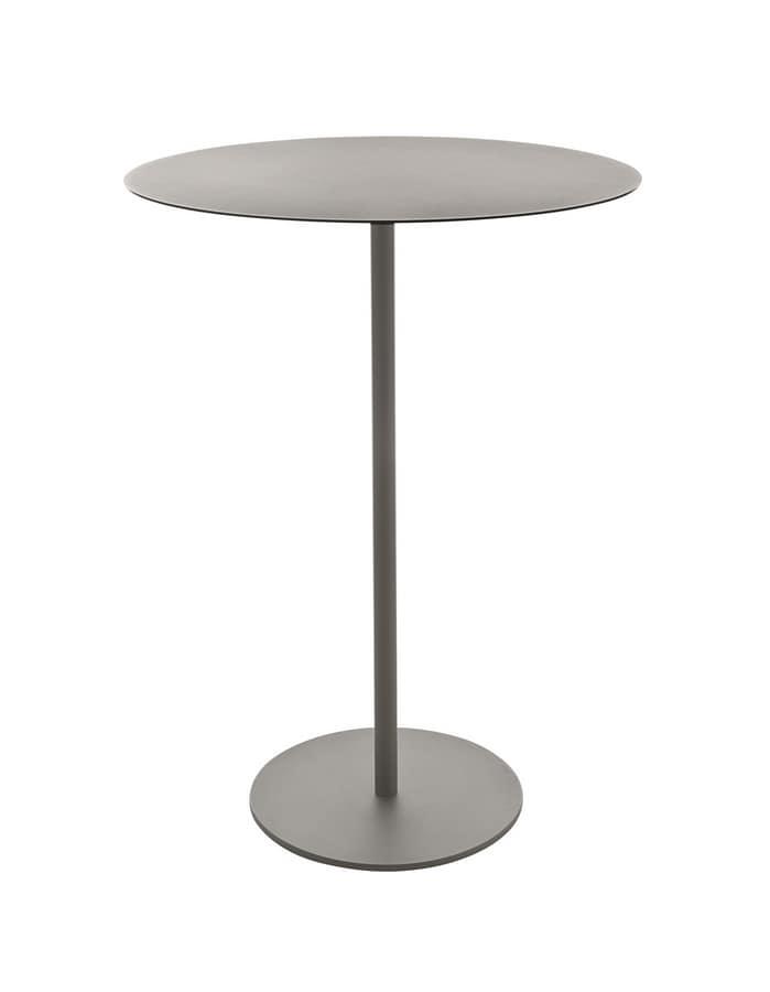 Kapio 110, Tavolo alto disponibile tondo o quadrato