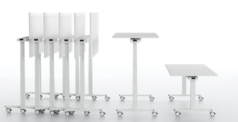 Tavolo regolabile in altezza per scuole e laboratori - Tavolo regolabile in altezza ...