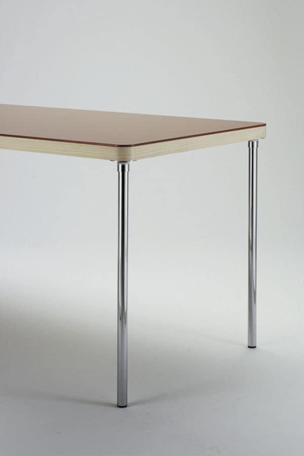 Tavolo Cucina Decorato Jack Cantori : Br tavolo rettangolare semplice per cucina