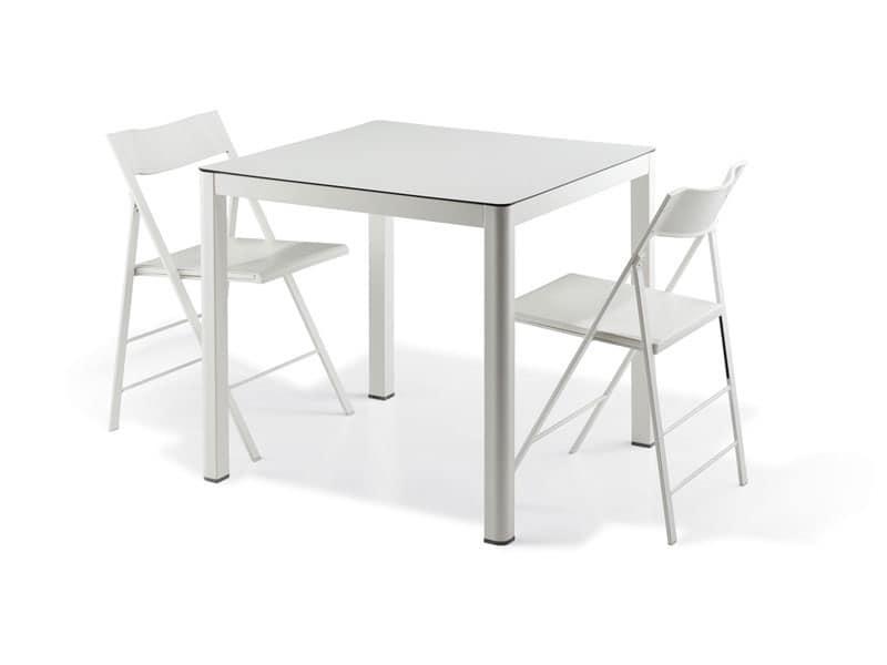 La 80x80 tavolo quadrato adatto per sala da pranzo for Tavolo quadrato 80x80 allungabile