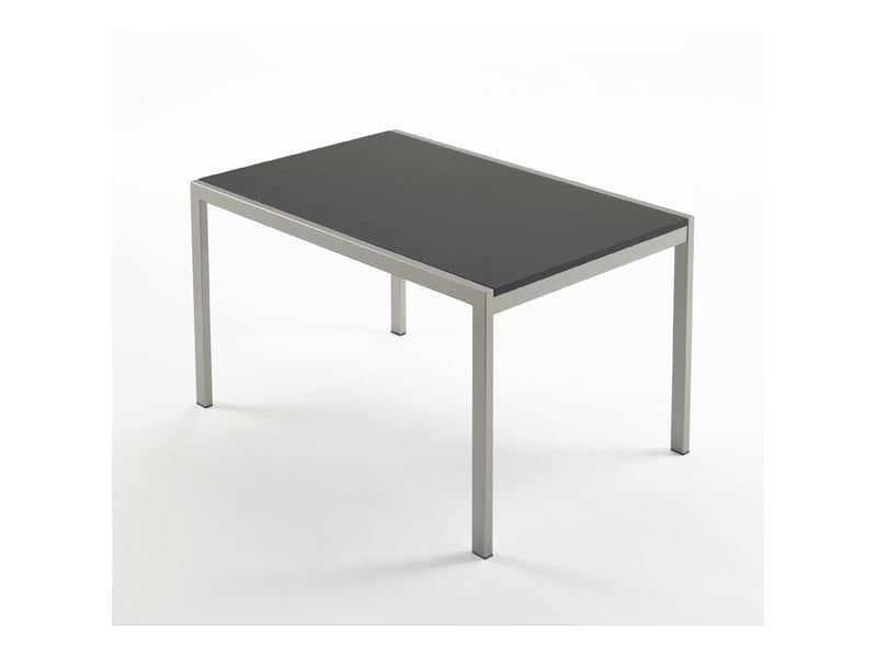 Tavolo da pranzo moderno in faggio per la casa idfdesign for Tavolo 70x110 allungabile