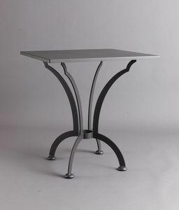 ARCHI GF4013TA-SQ, Tavolo quadrato in ferro per esterno
