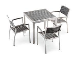 Immagine di BAVARIA 872 tavolo, tavoli inossidabili