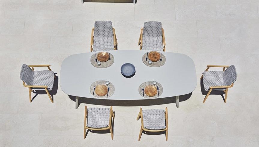 Tavolo da pranzo per esterni   IDFdesign