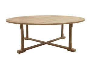 Macao 0439, Enorme tavolo da esterno in legno teak
