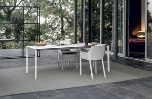 Maki outdoor, Tavolo da esterno, dall'elegante design