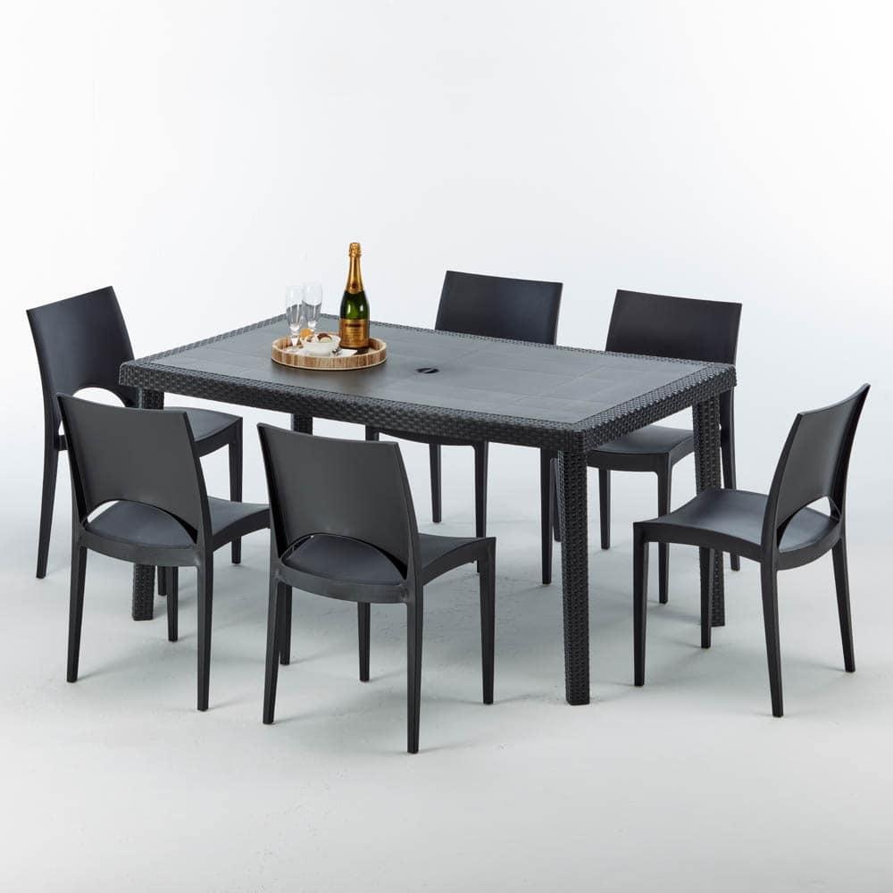 Sedie E Tavoli Da Esterno.Tavolo Per Esterni Di Alta Qualita Componibile Idfdesign