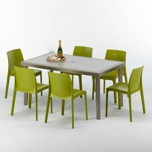 Arredo tavoli idfdesign for Tavolo sedie esterno