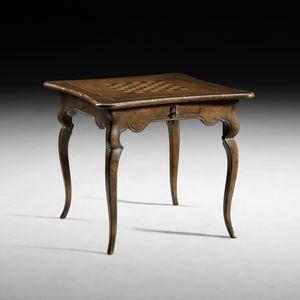 Art. B33 tavolino da gioco, Tavolino con scacchiera e backgammon