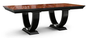 Art. 3003, Tavolo classico con doppia base