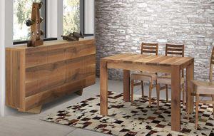 Art. 658, Tavolo in legno noce massello
