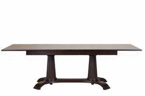Heritage tavolo, Tavolo da pranzo allungabile, in legno