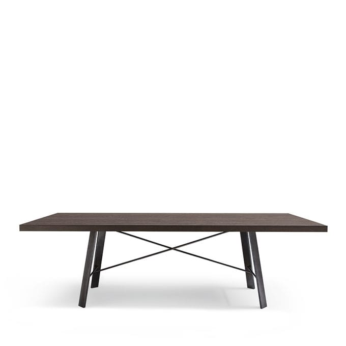 Tavolo rettangolare in legno adatto per sala da pranzo for Tavoli da pranzo in legno