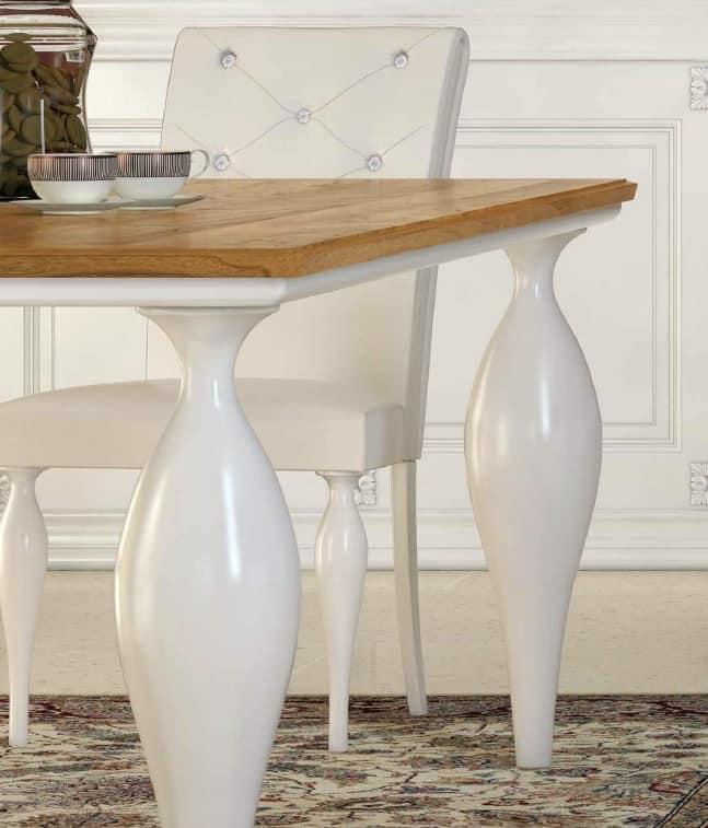 Tavolo art deco tavolo classico contemporaneo tavoli da - Tavoli da pranzo classici ...