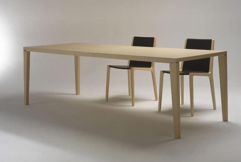 Tavoli tavoli moderni legno idf for Tavoli da soggiorno