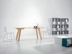 Immagine di Metro�, tavoli completamente in legno