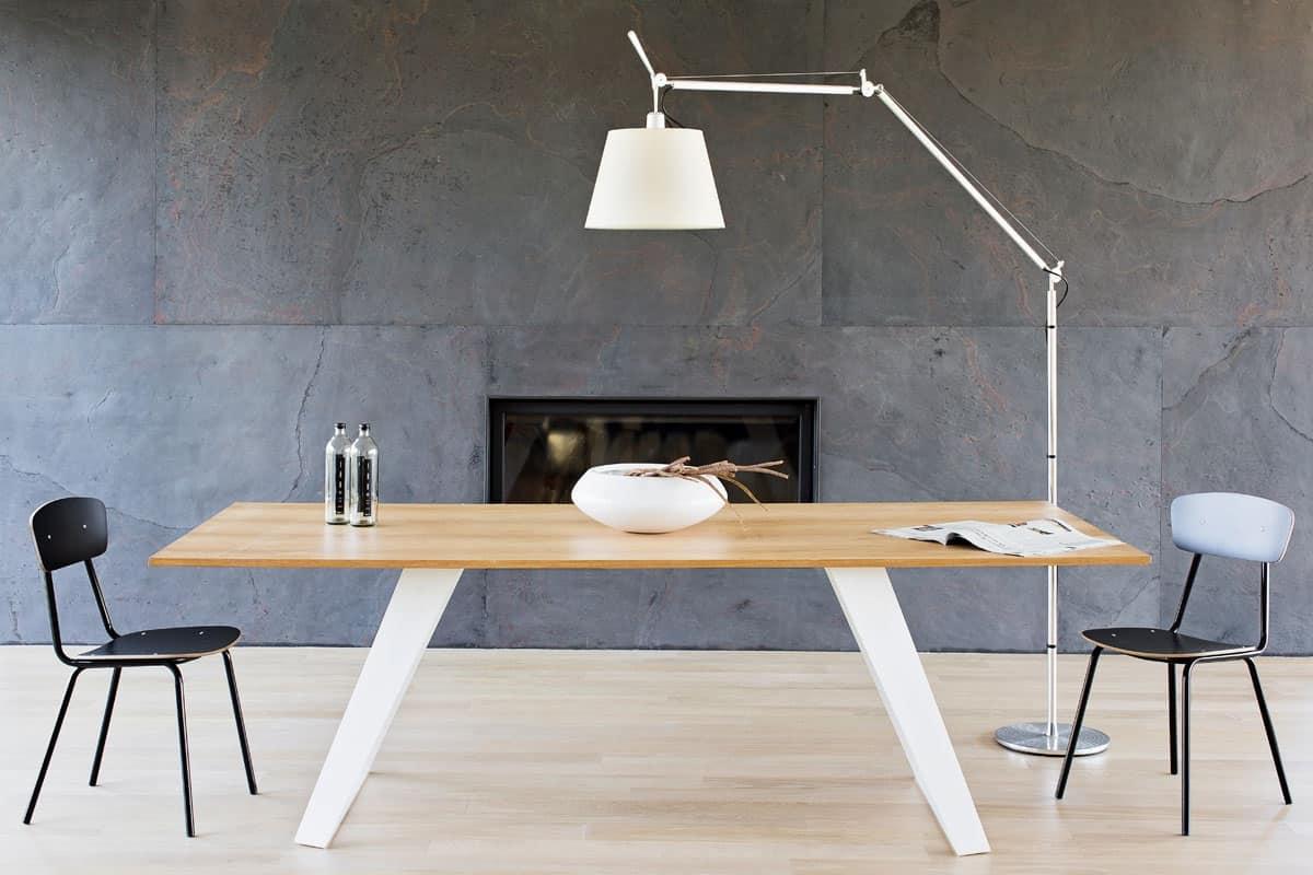 Morgan Tavoli In Legno.jpg #996A32 1200 800 Tavoli Da Pranzo Moderni In Legno