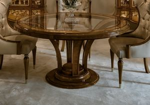 Tavoli Da Cucina Classici.Arredo Tavoli Classico Ed In Stile Di Lusso Rotondi Idfdesign