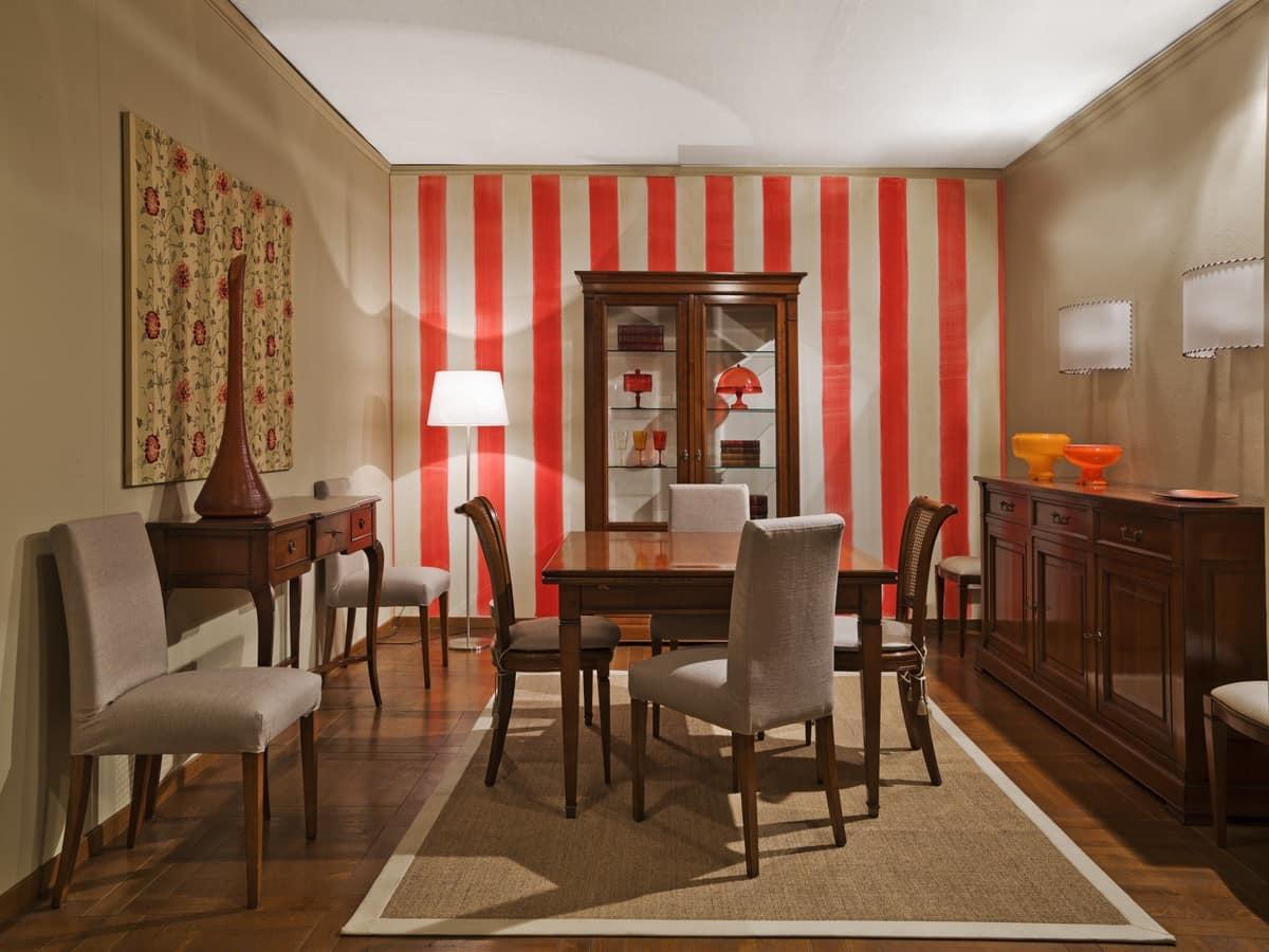 Tavolo allungabile con piano quadrato idfdesign - Tavoli da pranzo design ...