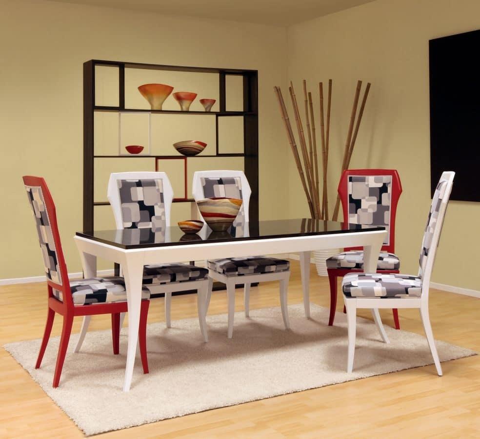 Tavolo moderno per sala da pranzo tavolo in legno per for Tavoli da pranzo in legno