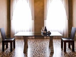 Immagine di TT Table Glass, tavoli pranzo contemporanei