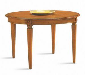 Villa Borghese tavolo da pranzo 3375, Tavolo da pranzo stile Directoire