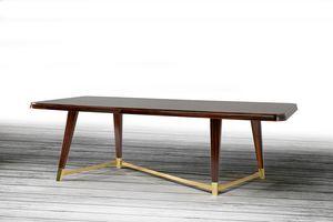 W06DT, Elegante tavolo in legno per sala da pranzo